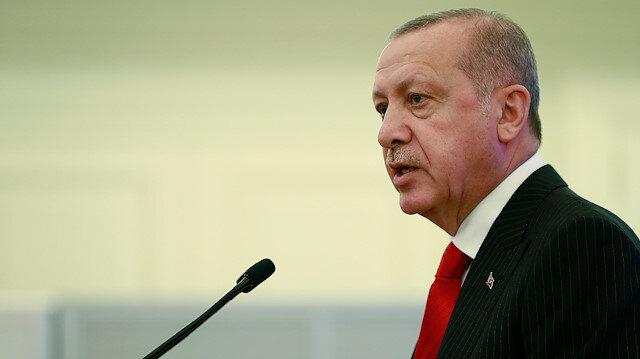 Cumhurbaşkanı Erdoğan: Kalıcı barışın yolu Ermenilerin işgal ettikleri her karış Azerbaycan toprağından geri çekilmelerinden geçiyor
