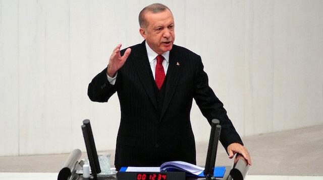Cumhurbaşkanı Erdoğan'dan Paşinyan'ın 'Türkiye müdahil olmasın' açıklamasına yanıt: Ne yapacağımızı soracak değiliz