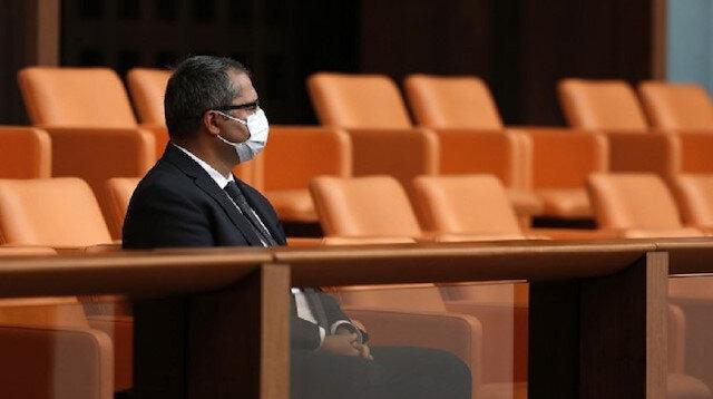 Meclis'in açılış törenine davet edilen tek isim Azerbaycan'ın Ankara Büyükelçisi Hazar İbrahim oldu