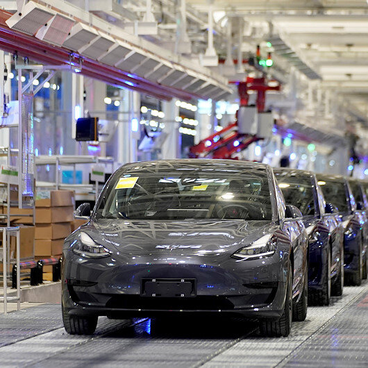 Tesla cuts starting price for China-made Model 3 vehicles by 8%