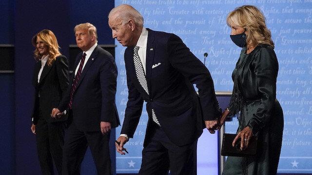 Trump-Biden tartışmasındaki kaos, format değişikliğine neden oldu