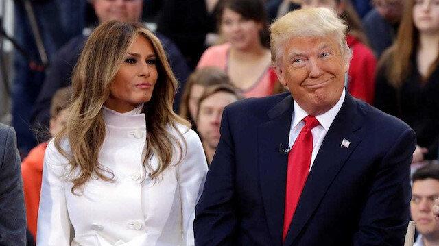 ABD Başkanı Trump ve eşi Melania Trump'ın koronavirüs testleri pozitif çıktı