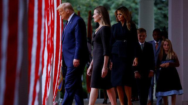 Trump'ın düzenlediği seremoniye katılan 6 kişi koronavirüse yakalandı