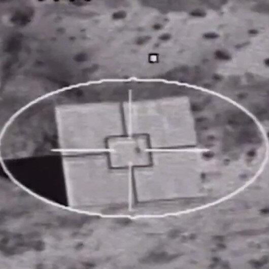 Teber güdüm kitli bombalar hedefleri 12den vurdu