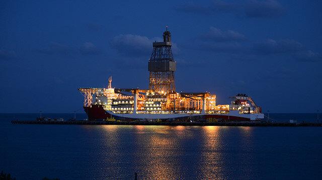Denizlerimizde Kanuni dönemi başlıyor: Kanuni sondaj Karadeniz'e açılmak için hazırlıklarını yaptı