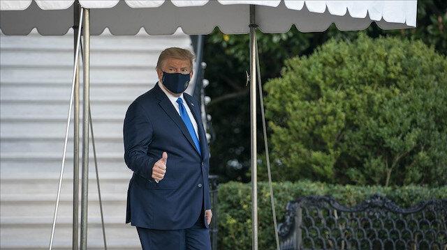 Koronavirüse yakalanan Trump askeri hastaneye götürüldü