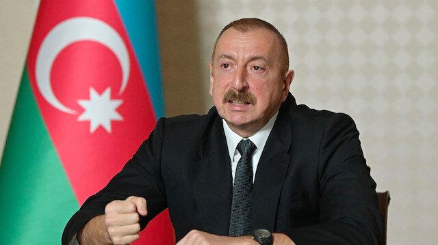 Aliyev'den Ermenistan'a ateşkes için üç şart: Özür dileyin, Karabağ'ı ilan edin, çekilme takvimi açıklayın