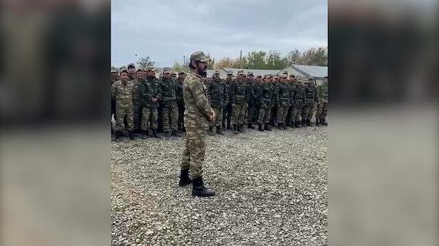 Azerbaycan Türkü profesyonel Kick Boksçu Zabit Samedov Silahlı Kuvvetlere katıldı