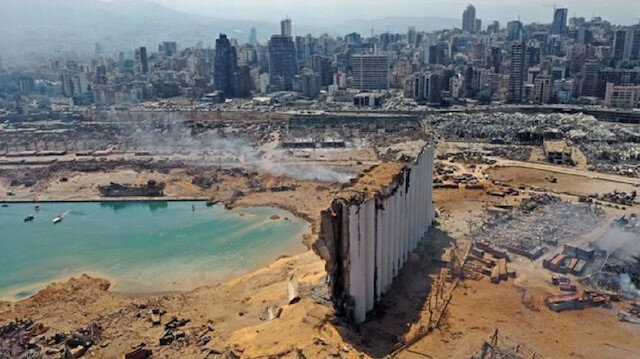 Beyrut patlaması analiz edildi: Hiroşima'nın 20'de birine denk geliyor