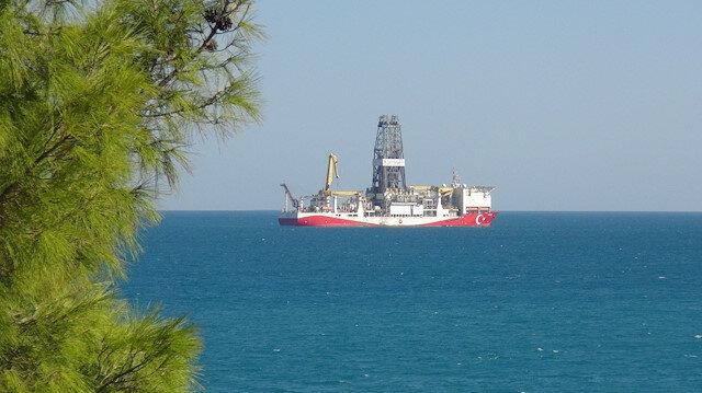Yavuz sondaj gemisi yeni görevine hazırlık için Taşucu Limanı'na döndü