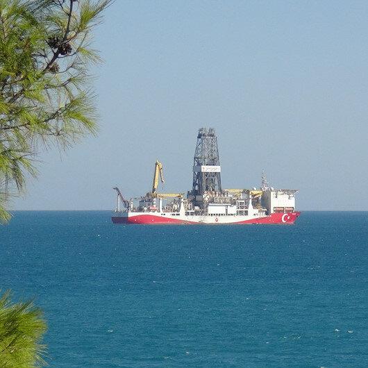 Yavuz sondaj gemisi yeni görevine hazırlık için Taşucu Limanına döndü
