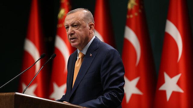 Cumhurbaşkanı Erdoğan: Azerbaycan'a destek vermek her onurlu devletin vazifesidir