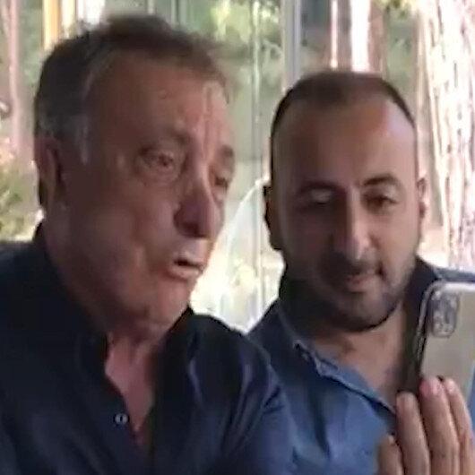 Ahmet Nur Çebinin telefonda yaptığı transfer görüşmesi sosyal medyaya sızdı