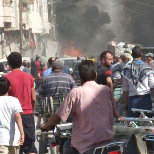 El Babda bomba yüklü araç patladı : 15 ölü , 30 yaralı
