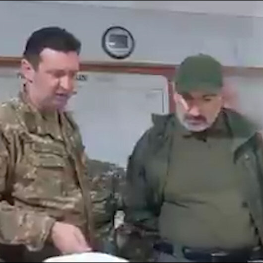 Paşinyan Karabağda görüntülendi