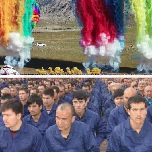 Çin, Doğu Türkistanı böyle tanıttı: Her şey güllük gülistanlık!