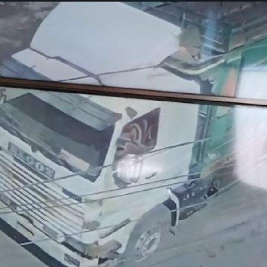 El Babda saldırı anı kamerada
