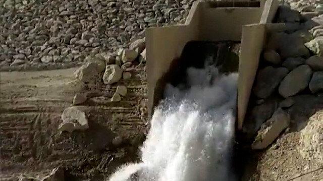 'Asrın Projesi'nde ilk su KKTC'ye ulaştı