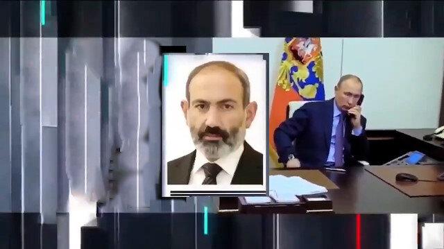 Putin'den canlı toplantı sırasında sürekli arayan Paşinyan'a