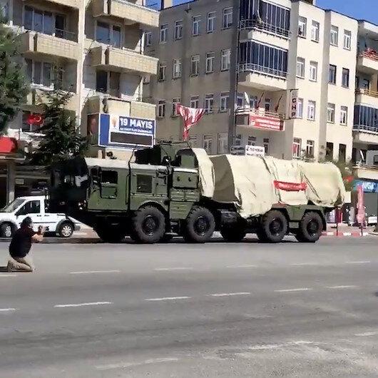 S-400ler Sinopa sevk edilirken görüntülendi