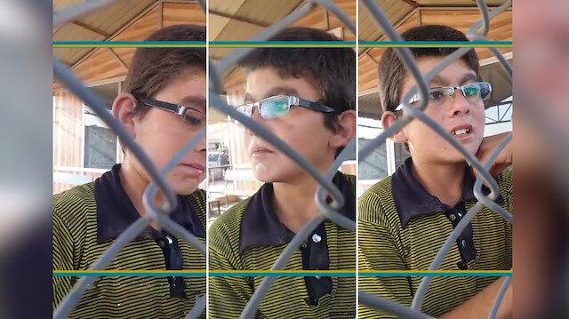 Naylon toplayarak günde 3 tl kazanan İdlibli çocuğun hikayesi yürekleri dağladı
