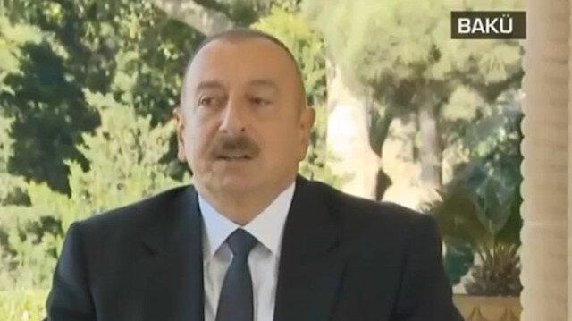 Aliyev: Sesimizi dünyaya Türkiye duyuruyor