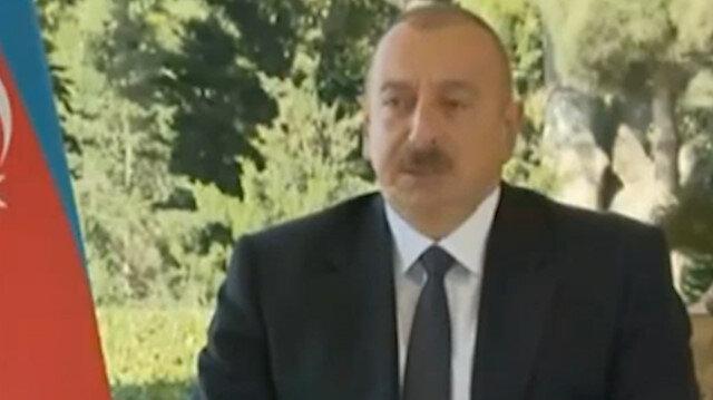Aliyev'den Ermenistan halkına çağrı