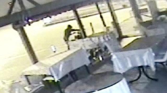 Kütahya'da motosiklet hırsızlığı güvenlik kamerasında