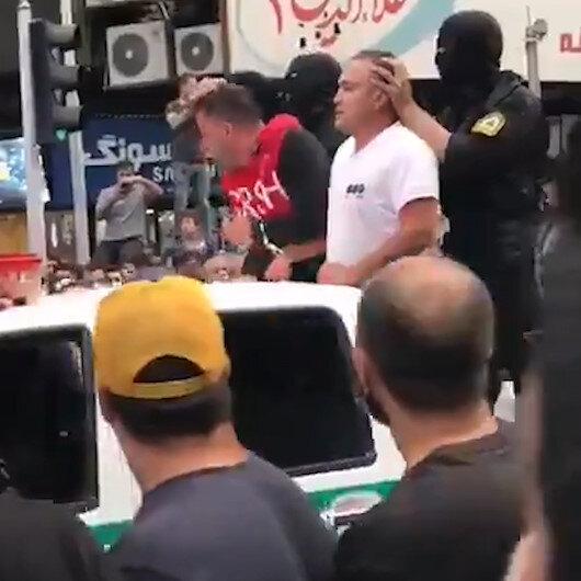Tahranda hırsızlık suçluları şehrin caddelerinde gezdirildi