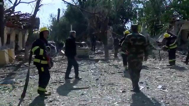 TVNET, Ermenistanın vurduğu sivil yerleşim yeri Berdede