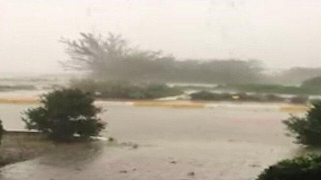 Silivri'de şiddetli yağış