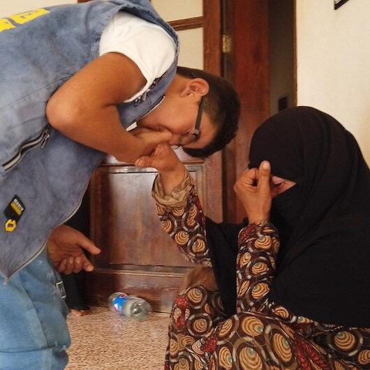 Suriyeli Hüseyinin artık ailesiyle başını soktukları bir evi var