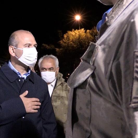 İçişleri Bakanı Süleyman Soylu geç saatlerde Şırnaka geldi