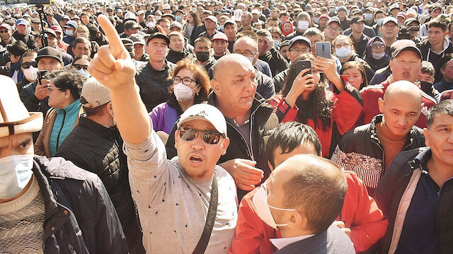 Kırgızistan'da FETÖ'den Gezi taktikleri