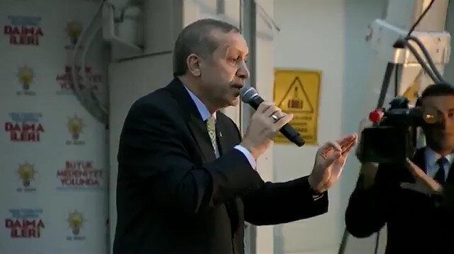 Cumhurbaşkanı Erdoğan'dan Kılıçdaroğlu'na gönderme: Biz sadece Allah'ın huzurunda eğiliriz