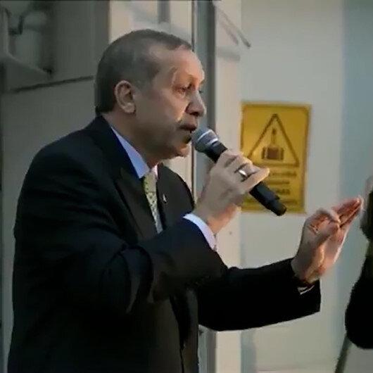 Cumhurbaşkanı Erdoğandan Kılıçdaroğluna gönderme: Biz sadece Allahın huzurunda eğiliriz