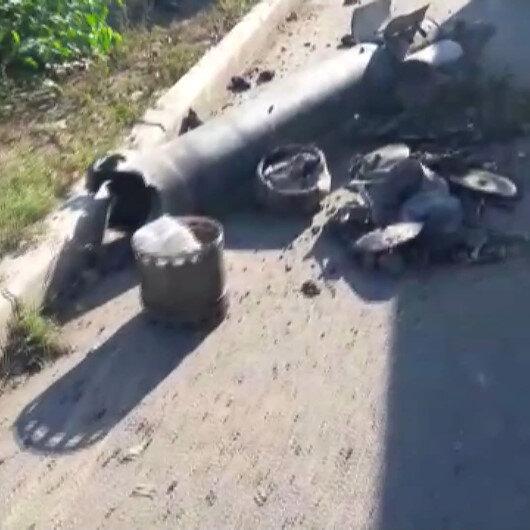 Ermenistanın attığı roket, Gencede okulun arka sokağına düştü