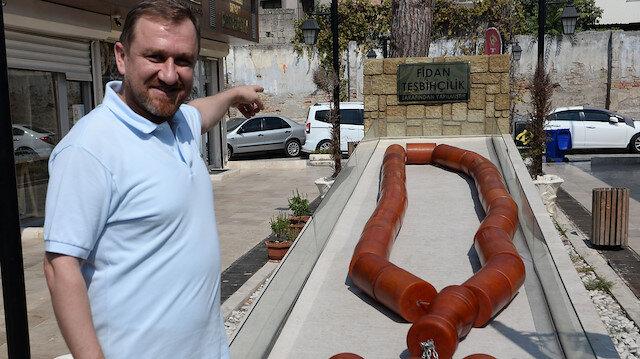 Dünyanın en büyük tespihi Adana'da: Guinness adayı 1 tonluk kehribar tespihi Külliye'ye hediye etmek istiyor