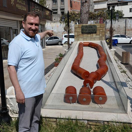 Dünyanın en büyük tespihi Adanada: Guinness adayı 1 tonluk kehribar tespihi Külliyeye hediye etmek istiyor