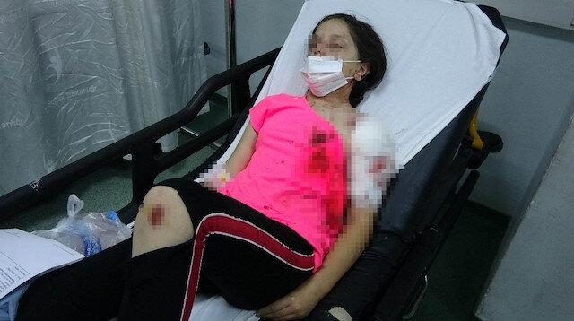Samsun'da pitbull dehşeti: 11 yaşındaki küçük kız ölümden döndü