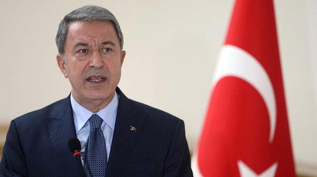 Milli Savunma Bakanı Hulusi Akar: Bir 30 yıl daha oyalanmaya tahammülümüz yok