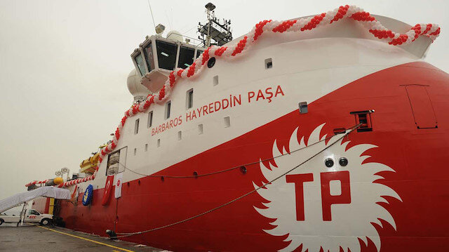 Barbaros Hayreddin Paşa gemisi için 9 Kasım'a kadar NAVTEX ilan edildi