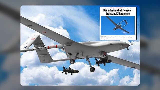 Türk drone'ları Alman Bild gazetesinin yakın markajında: ''Bayraktar TB2'nin karşısında hiçbir güç duramıyor''