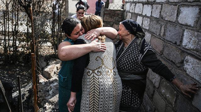 Ermenistan'ın en çok hedef aldığı yerleşim yerlerinden Terter'de büyük hasar var