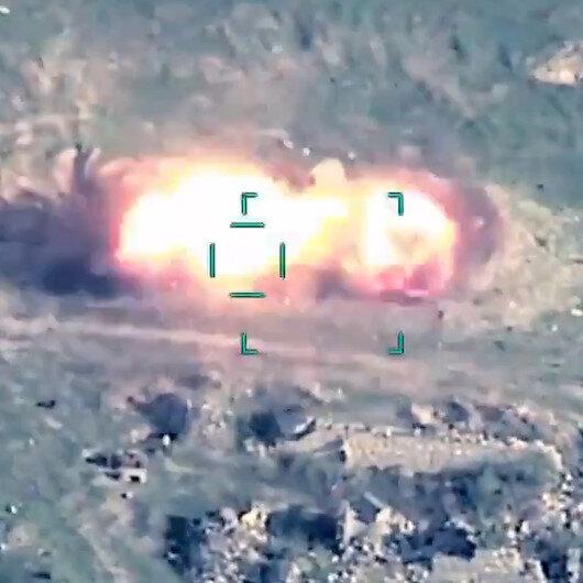 Azerbaycan ordusu, ateşkesi ihlal eden Ermenistanın uçaksavar sistemlerini havaya uçurdu
