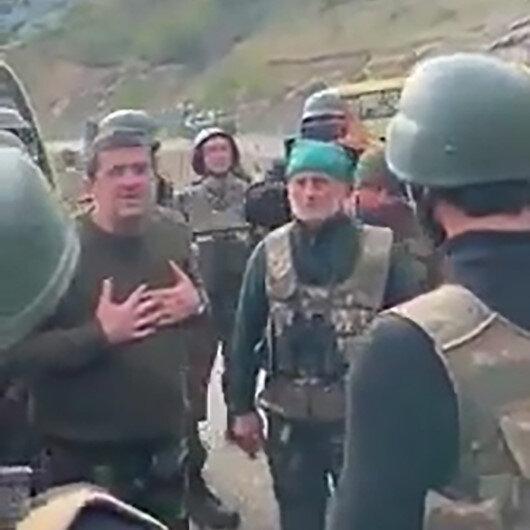 Dağlık Karabağın sözde lideri Harutyunyan Ermenistan askerlerine yalvardı: Biraz dinlenin, sonra savaşırsınız