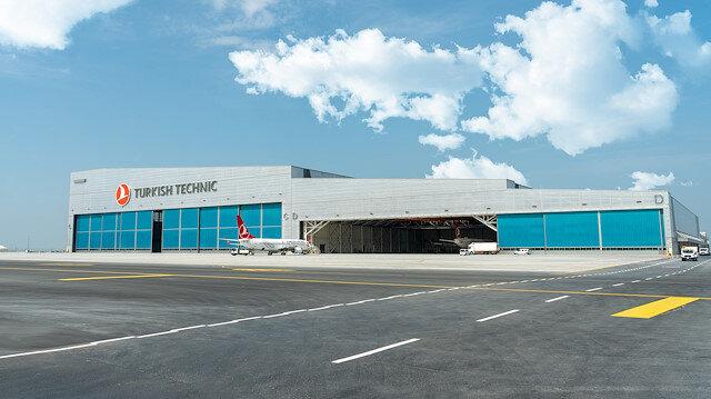 Dünyanın en büyüklerinden olan çevreci hangar İstanbul Havalimanı'nda hizmete girdi