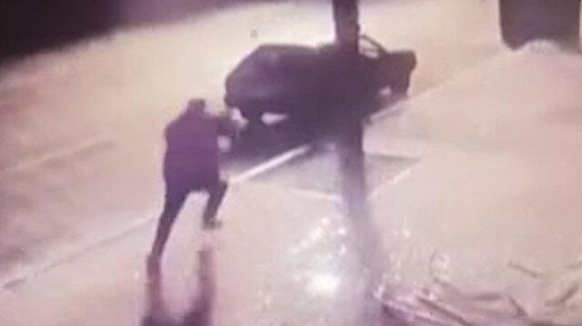 Ermenistan'ın Gence'de sivillere düzenlediği saldırı anına ait görüntüler