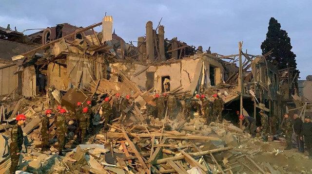 Ermenistan, Gence şehrine füzeyle saldırdı: 7 ölü, 28 yaralı