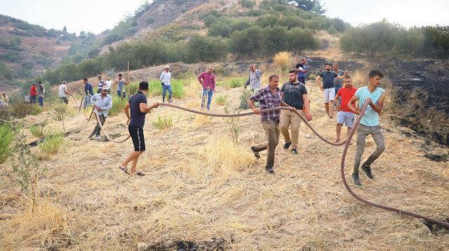 Orman yakan PKK'lılar 'şenlik' yaptı: Ateşe verip eğlenmişler